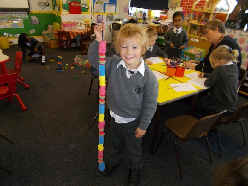 James demonstrates his pattern making skills