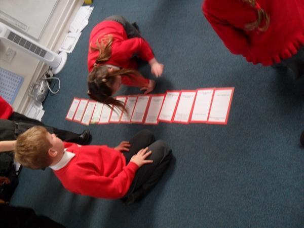 Sequencing the Events of the Fire