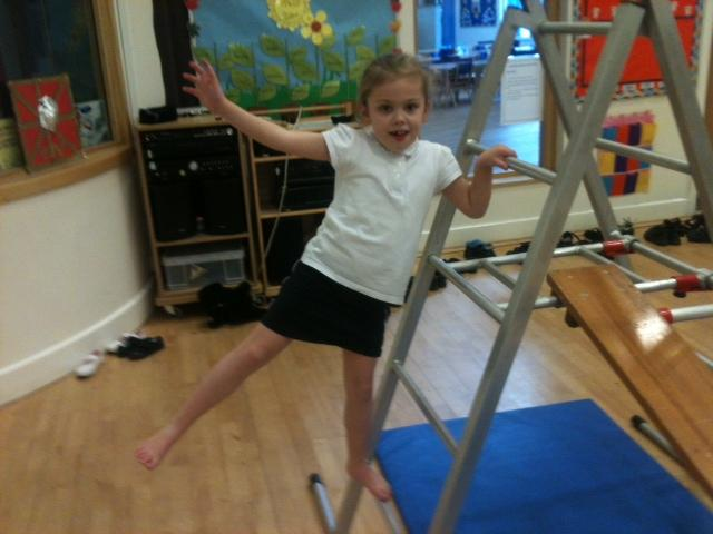 Fabulous balance Olivia!