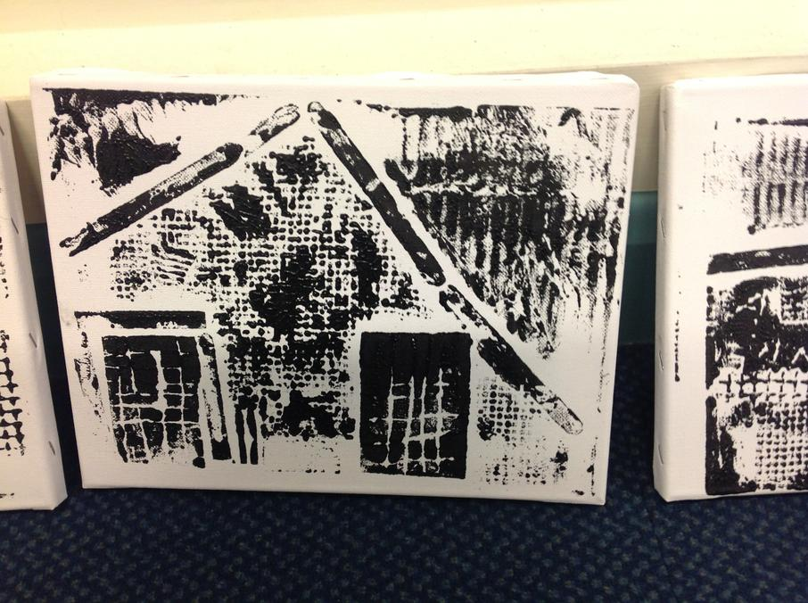 Our prints of the school building