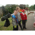 Litter pick of top field complete