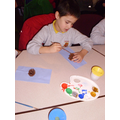 Making Victorian style tree decorations