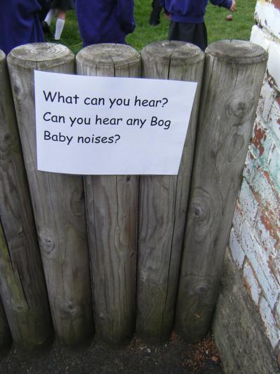Listening for noises
