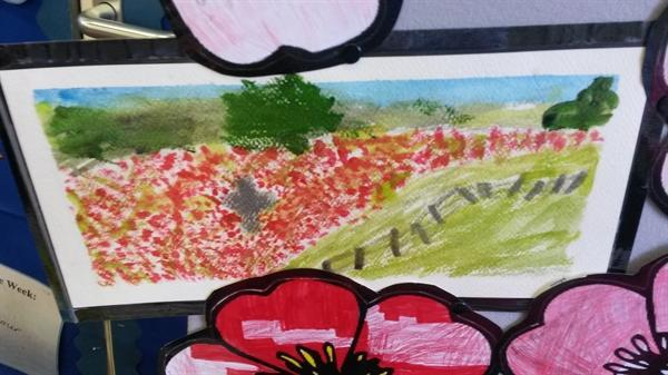 Our WWI art!