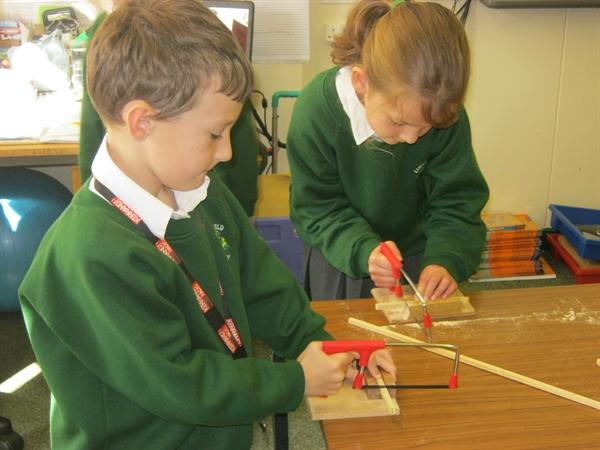 Making Tudor House Money Boxes