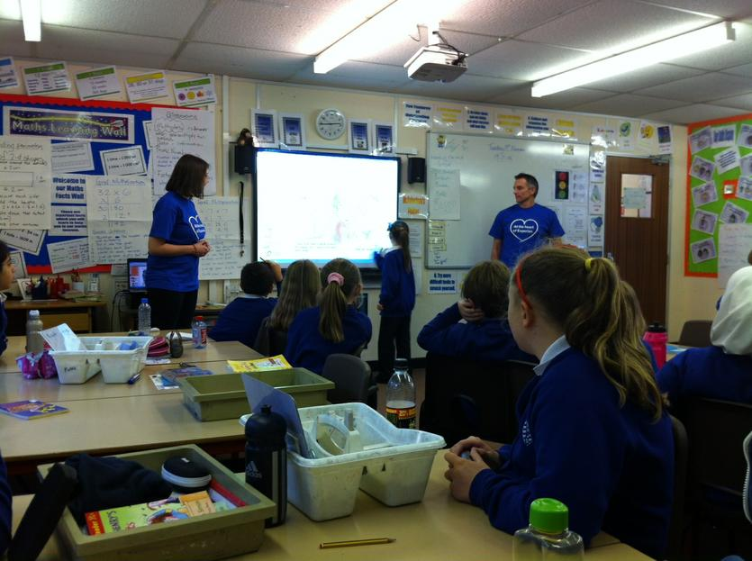 Experian run money sessions beeston rylands junior school