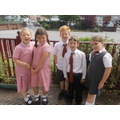 Move Up Day - the new children coming in to Year 4