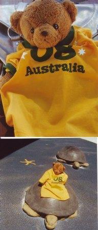 Anton Bear in Australia