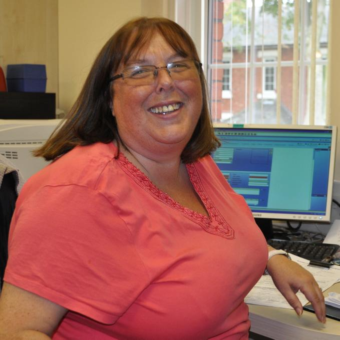 Mrs Walters - Clerical Assistant