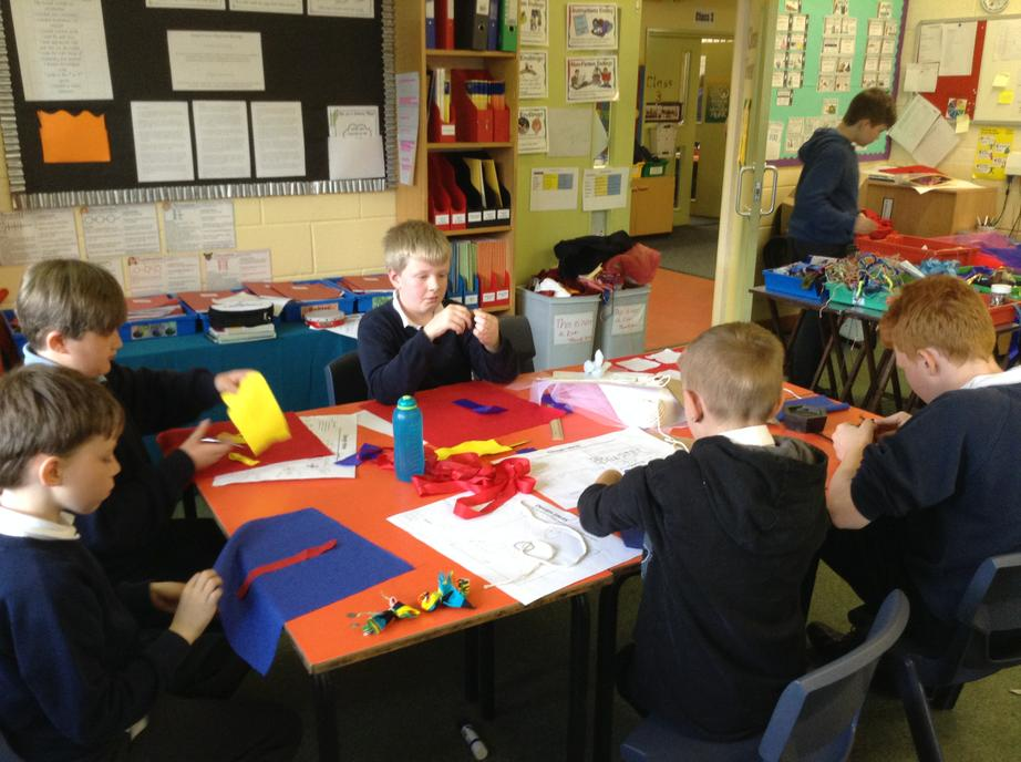 Textiles: creating our designs
