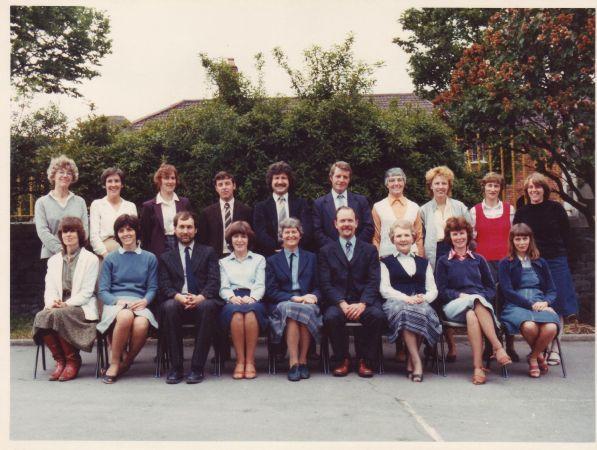 c. 1980s staff