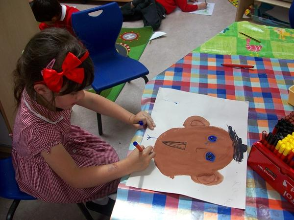 Mr Potato Head painting