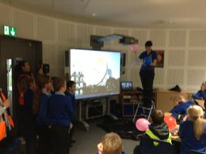 December 2013 - Jodrell Bank Discovery Centre - Year 5. 5