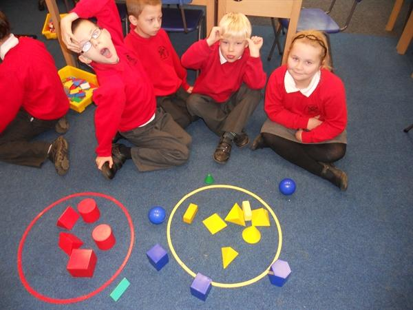 We made our own Venn diagrams