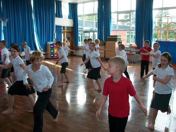 International Week - Samba Dancing!