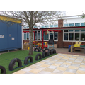 Our reception outdoor area