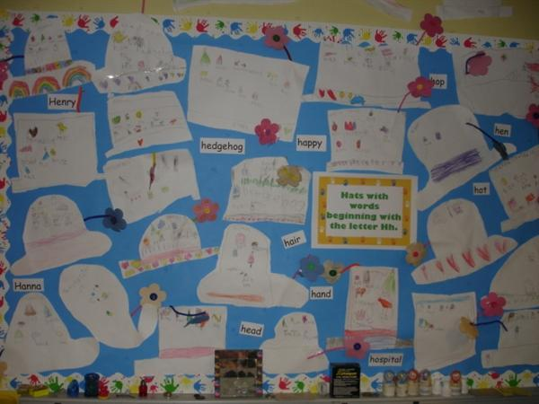 Y2 Mrs Henry's classroom display