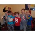 Hotel treasure hunt winners!