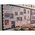 Our learning wall