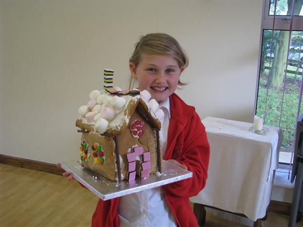 Zoe's Gingerbread House