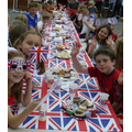 Diamond Jubilee tea party 1st June 2012