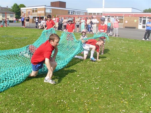 Obstacle Race-Cargo Net!