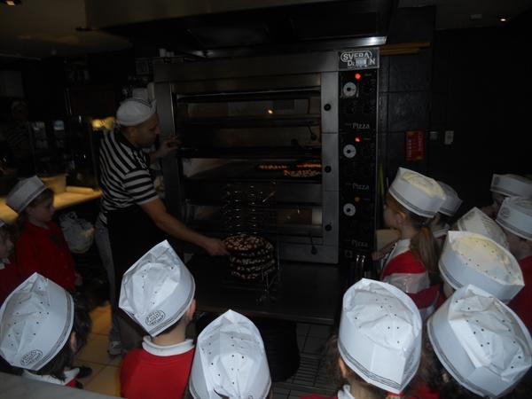 We had a great time at Pizza Express!