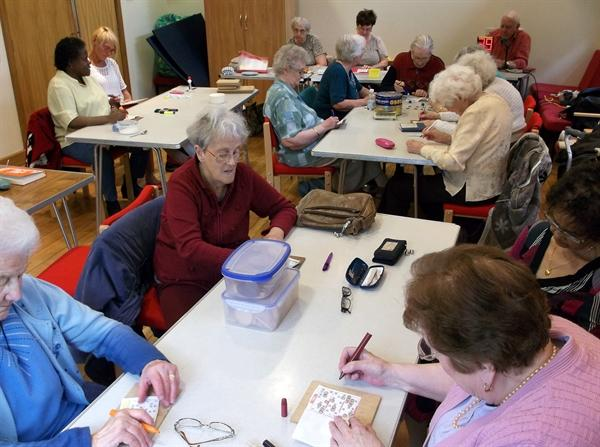 Bingo and Lunch Club 55+: Thursday 12pm-14:30pm