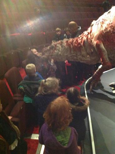 The carnivore was so scary!