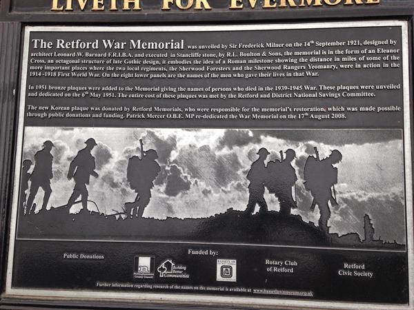 Retford War Memorial