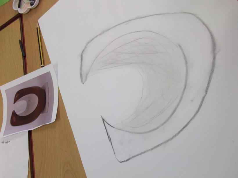 We have been inspired by Barbara Hepworth