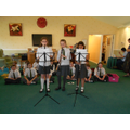 Choir and musicians entertain at Sherford Manor