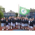 St Teresa's 4th Green Flag award.
