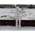Miss Banham's snow man