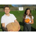 Guess the weight the year 5 Pumpkin 2014