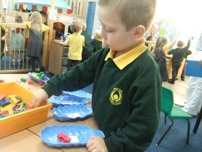 We practise our counting