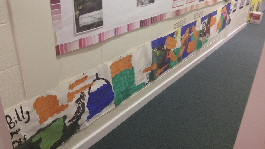Our KS1 group have made a wonderful story strip