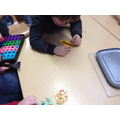 Chinese noodles and Numicon
