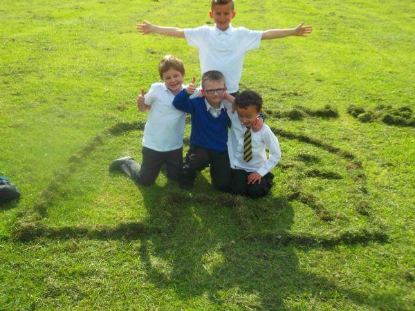 Fun with the grass
