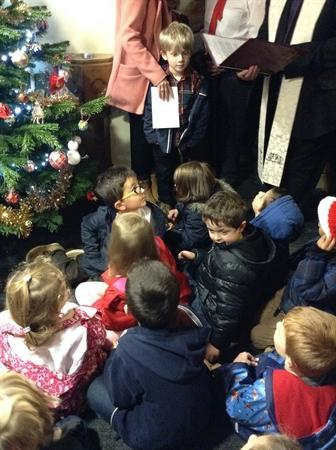 Blessing of the tree at Church