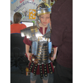 Roman armour.