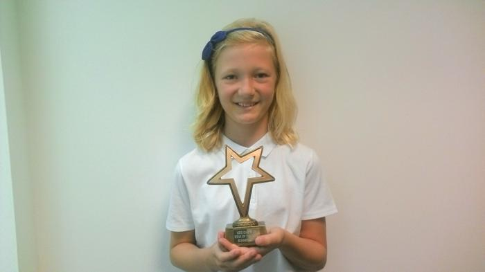 Charlotte - Kidz Camp Star of Week (again!) :-)