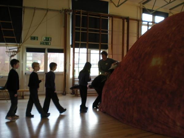 The Sun Dome from Culham Science Centre