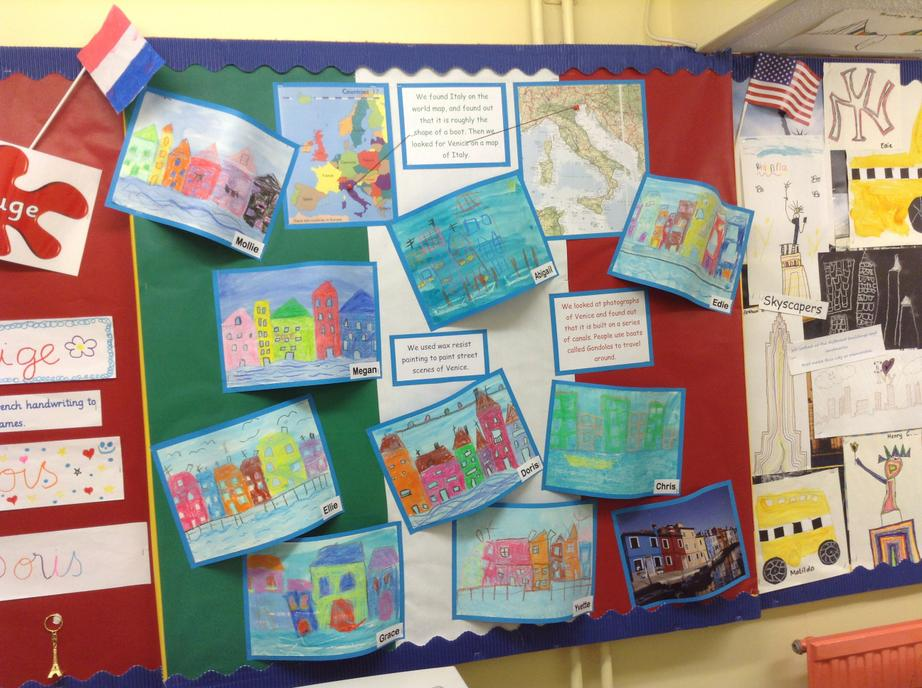 Our International Day Display