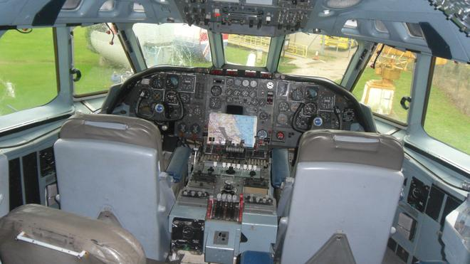 This is the cockpit... who might sit in here?