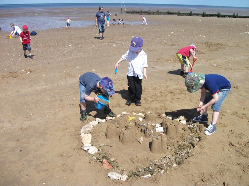 We worked as a team.