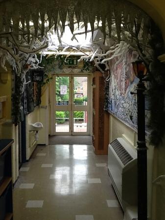 Year 2 Narnia corridor
