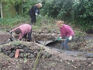 ..more digging