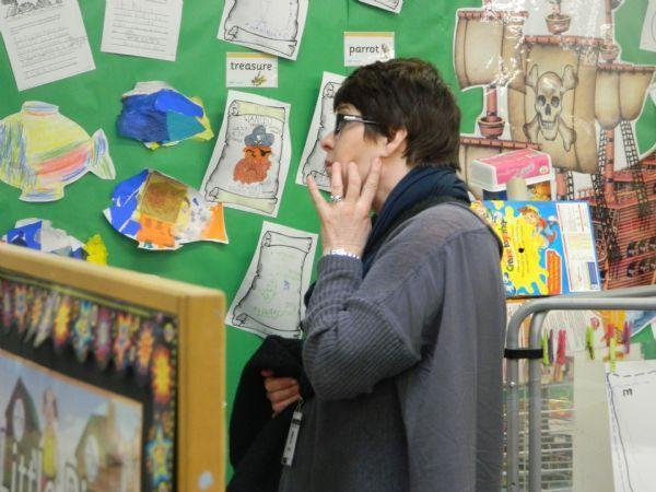 Touring our school with a focus on young pupils