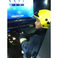 Some of us got to drive the fire engine.